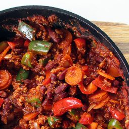 Chilli Con Tofu (Vegan)