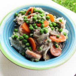 Mushroom Fricassee – Vegan