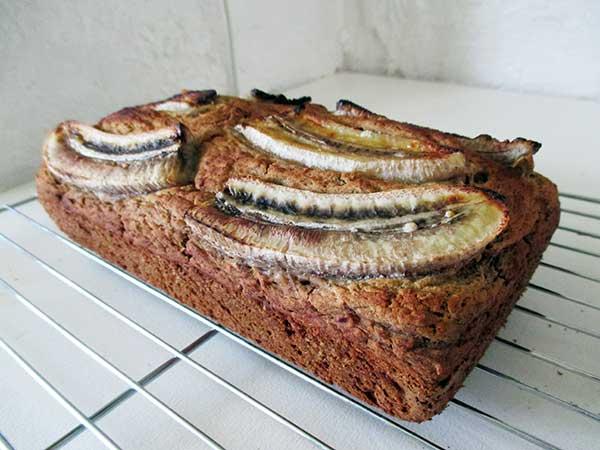 Vegan Gluten-free Banana Loaf