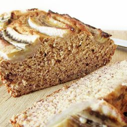 Vegan Gluten-free Banana Loaf (No Refined Sugar)