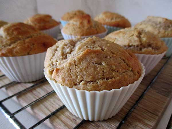 Vegan Gluten-free Lemon Cupcakes with Lemon Cream