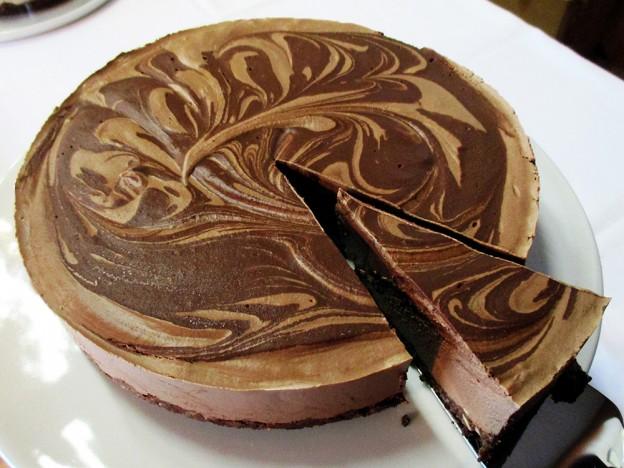 Super-Creamy No-Bake Double Chocolate Cake (Vegan) | The ...
