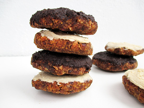 Raw Vegan Gluten-free Lebkuchen Gingerbread