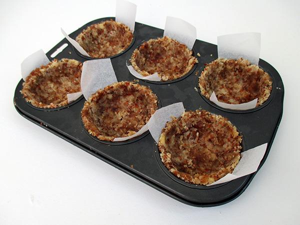 Vegan Gluten-free No-Bake Raw Mini Blueberry Cakes