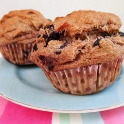 Blaubeeren Bananen Muffins (Vegan, Glutenfrei, ohne Stärke, ohne Gummi)