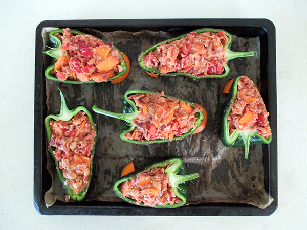 Vegan Gluten-free Stuffed Peppers