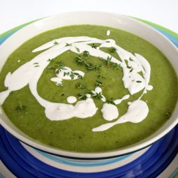 Green Bean Soup with Sour Cashew Cream