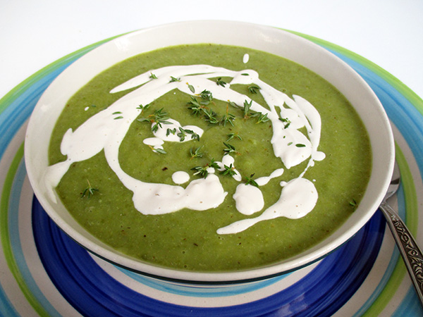 Vegan Gluten-Free Green Bean Soup