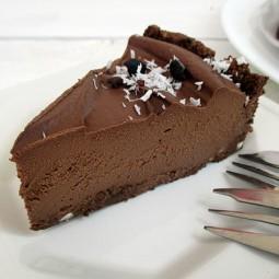 No-Bake Chocolate Cake (vegan, gluten-free, nut-free, soy-free)