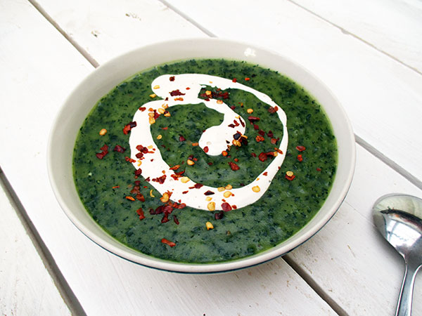Vegan Gluten-free Kale Potato Soup