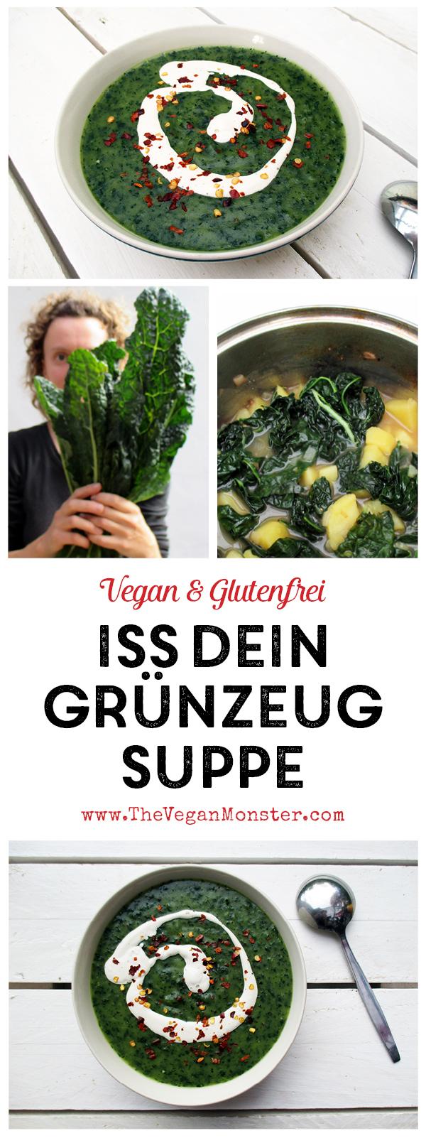 Vegane Iss Dein Gruenzeug Gruenkohl Kartoffel Suppe Rezept