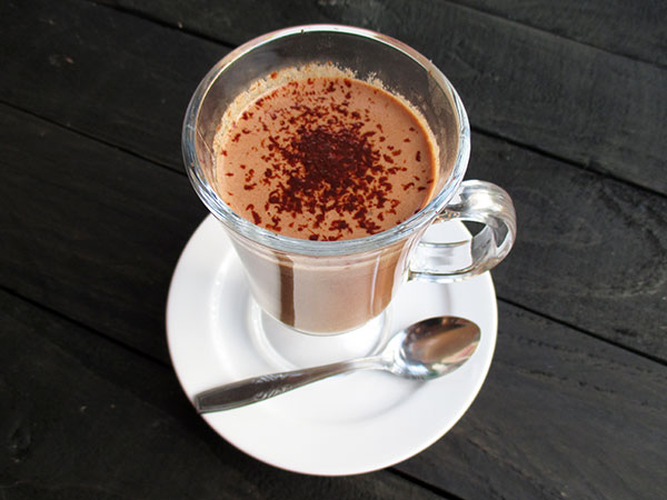 DIY Hot Chocolate Vegan Gluten-free Dairy-free