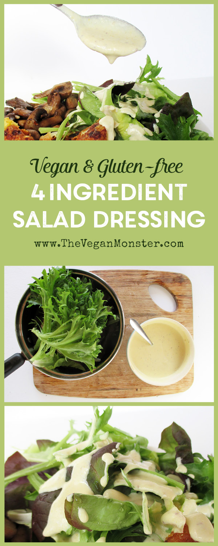 Vegan Gluten-free Dairy-free Mustard Honey Dressing