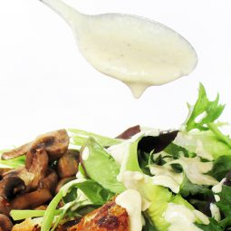 4 Ingredients Salad Dressing (Vegan , Gluten-free)
