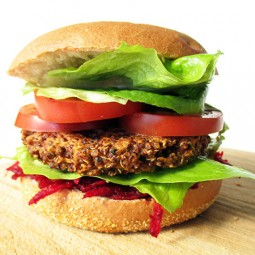 Quinoa Burger, That Won't Fall Apart (Vegan, Gluten-free)