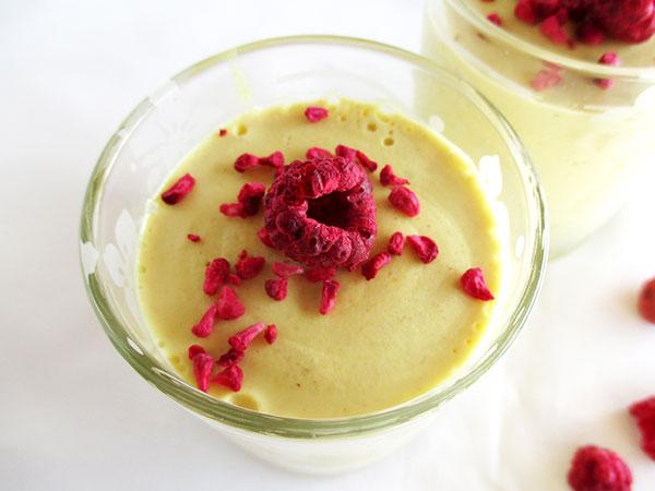 Vegan Gluten-free Dairy-free Lemon Mousse