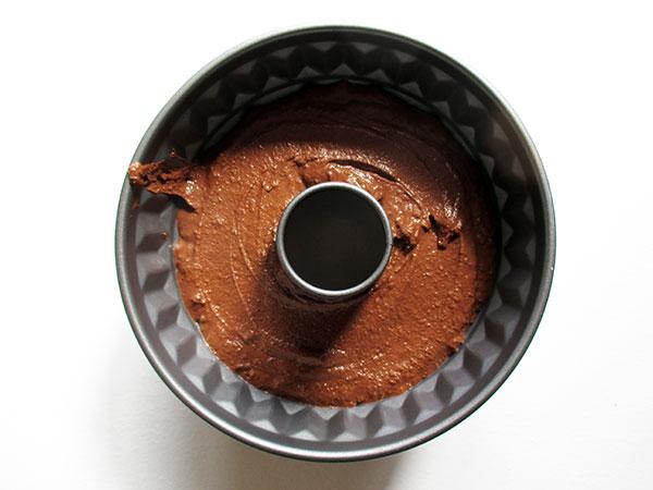Vegan Gluten-free Dairy-Free Egg-free Chocolate Cake with Vanilla Frosting