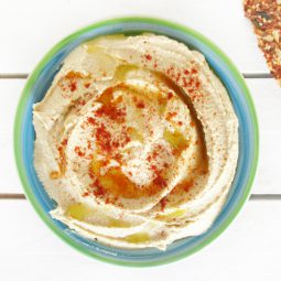 Easy Home-made Hummus (Vegan, Gluten-free)