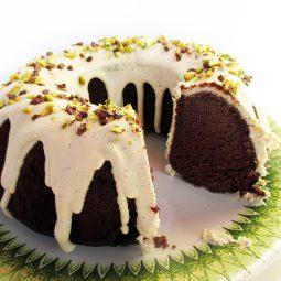 Nut-Pulp Chocolate Cake (Vegan, Gluten-free)