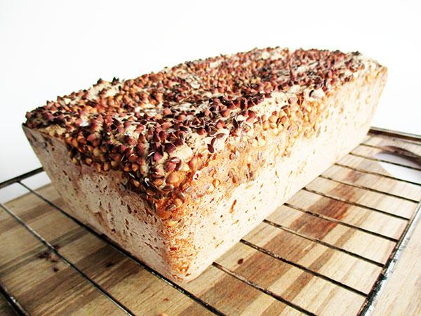 Vegan Gluten-free Crispy Buckwheat Bread