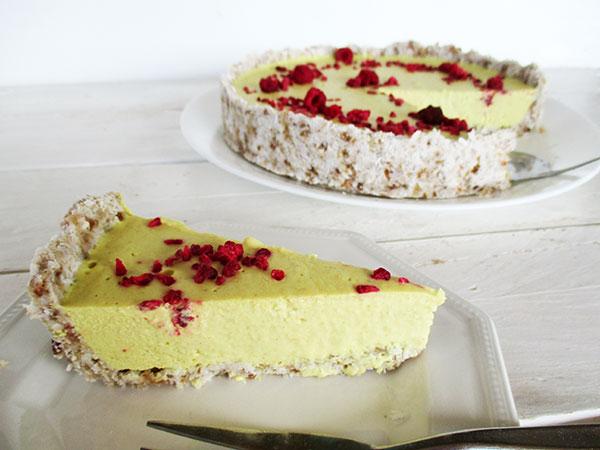 Vegan Gluten-free Dairy-free Egg-free Nut-free No-Bake Lemon Tart