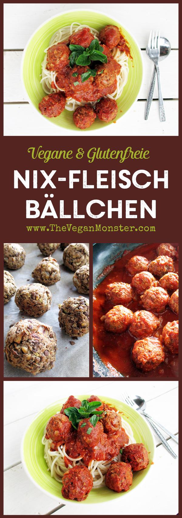 Vegetarische Vegane Glutenfreie Fleischfreie Bällchen