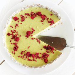 No Bake Lemon Tart (Vegan, Gluten-free, Nut-free, Soy-free)