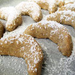 Vanilla Cornets (Vegan, Gluten-free)