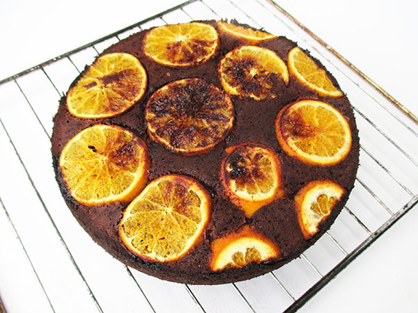 Vegan Gluten-free Refined Sugar-Free Egg-free Dairy-free Orange Hazelnut Chocolate Cake Recipe