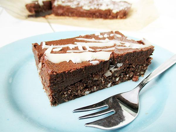 Nix-Backen Vegane Glutenfreie Schokoladen Brownie Ohne Nüsse Rezept