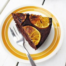 Orange Hazelnut Chocolate Cake (Vegan, Gluten-free, No Refined Sugar)