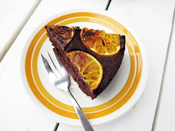 Vegan Gluten-free Refined Sugar-Free Egg-free Dairy-free Orange Hazelnut Chocolate Cake Recipe