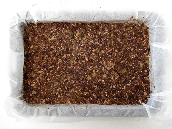 Vegane Glutenfreie Nix Backen Rohköstliche Schokoladen Energie Riegel Ohne Nüsse Rezept