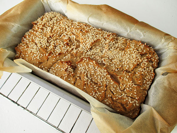Vegan Gluten-free Oil-free Quinoa Home-Made Bread Recipe