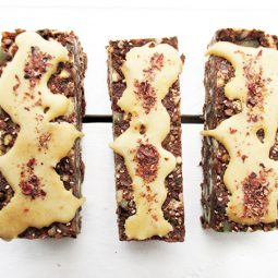 No Bake Chocolate Energy Bars (Vegan, Gluten-free, Nut-free)