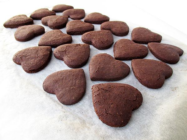 Sag Es Mit Schokoladen Keksen - Vegan Glutenfrei Ohne Nüsse Ohne Öl Rezept