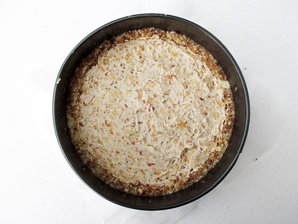 Veganer Glutenfreier Milchfreier Nix Backen Rohköstlicher Apfel Zimt Kuchen Rezept Ohne Kristallzucker