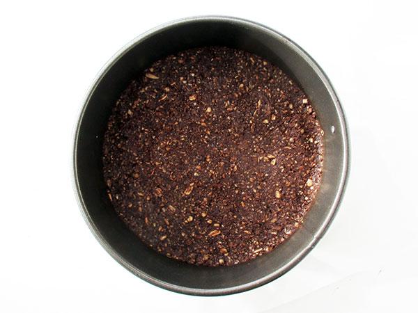 Vegan Gluten-free Nut-free Dairy-free No-Bake Raw Double Chocolate Cake Recipe