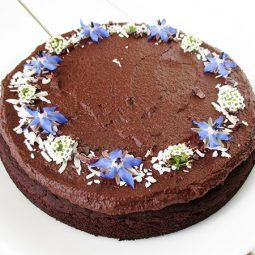 Chocolate Cake (Vegan, Gluten-free, Oil-free)