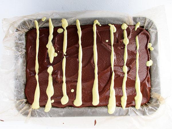 Vegan Gluten-free Raw No-Bake Orange Chocolate Slices Cake Recipe