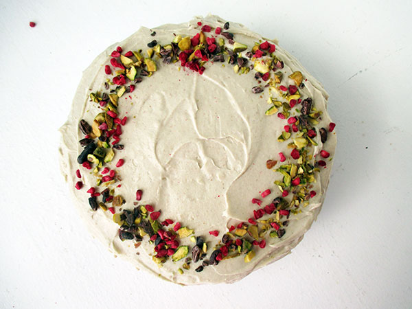 Vegan Gluten-free Dairy-free Oil-free Chocolate Cake With Super Creamy Vanilla Frosting Recipe Rezept