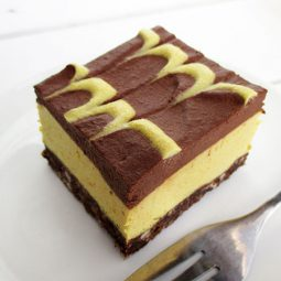 No-Bake Orange Chocolate Slices (Vegan, Gluten-free, No Refined Sugar)