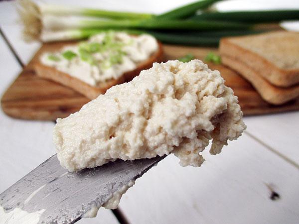 Veganer Glutenfreier Probiotischer Cashew Streich Kaese Rezept Ohne Soja