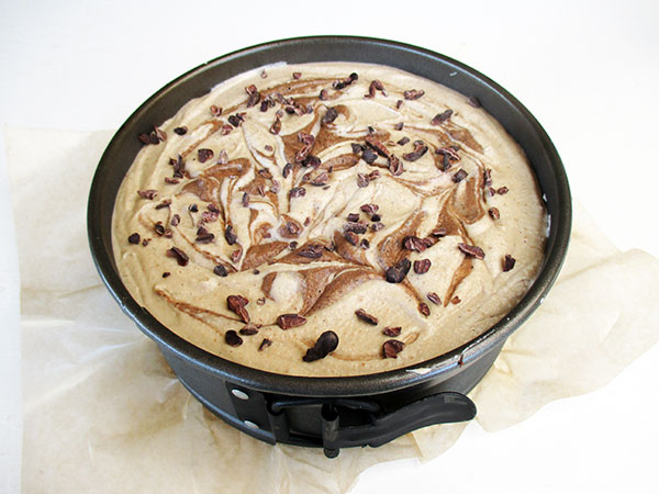 No-Bake Cappuccino Cake Dairy-free Egg-free Refined-Sugar-Free Recipe