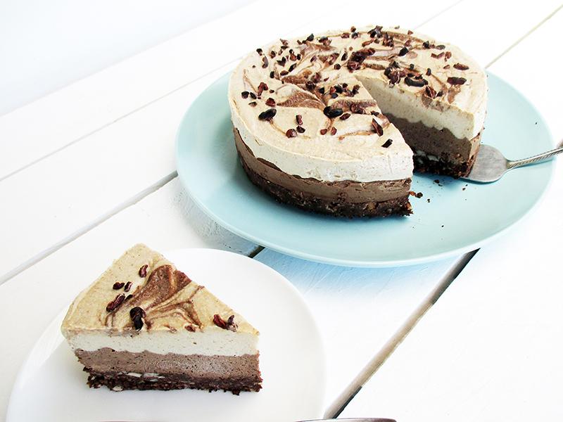 No Bake Cappuccino Cake