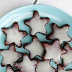 Cinnamon Star Cookies (Vegan, Gluten-free, Nut-free)