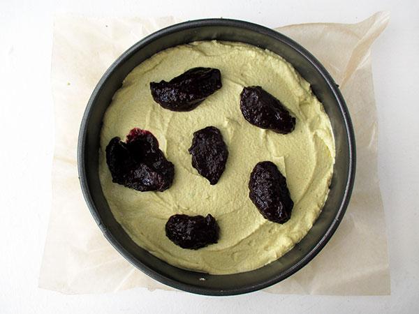 Nix Backen Zitronen Blaubeer Torte Vegan Glutenfrei Ohne Nusse
