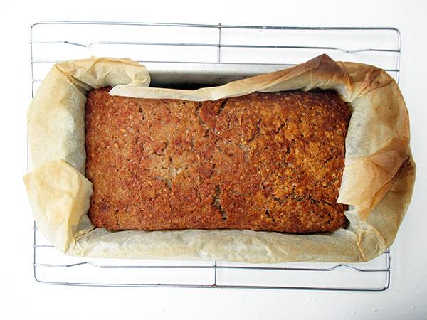 Vegan Gluten-free Yeast-free Home-made Bread Recipe