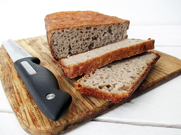 Home-made Bread (Vegan, Gluten-free, Yeast-free) | The Vegan