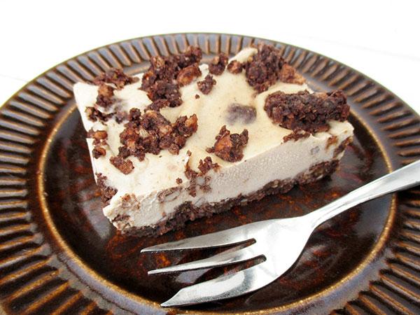 No-Bake Raw Vegan Gluten-free Cookies Cream Slice Cake Recipe - Nix-Backen Glutenfreie Schnitte Kuchen Ohne Kristallzucker Rezept
